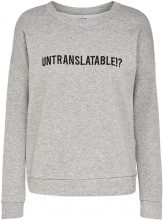 ONLY Printed Sweatshirt Women Grey