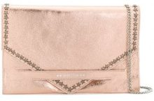 Marc Ellis - Borsa Clutch 'Keira' - women - Leather - One Size - PINK & PURPLE