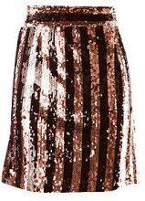 Fiona Sequin Stripe Mini Skirt