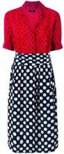 Diesel - 'D-Blaze' heart and spot print dress - women - Viscose - XS - RED