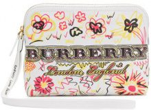 Burberry - Borsa Clutch - women - Leather - OS - WHITE