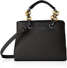 Tamaris Rania Handbag - Borse a secchiello Donna, Schwarz (Black), 11x20x27.5 cm (B x H T)