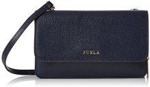 FURLA Riva L Crossbody Pouch - Borse a tracolla Donna, Blu (Blu Dark), 5.5x12.5x19.5 cm (W x H L)