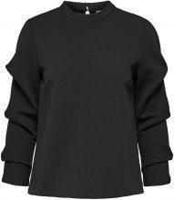 SELECTED Draped - Sweatshirt Women Black