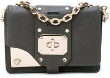 Versace - Mini clutch 'Stardvst' - women - Calf Leather - One Size - GREEN
