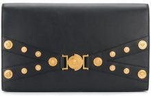Versace - Clutch 'Medusa' - women - Leather - OS - BLACK
