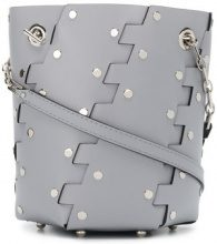 Proenza Schouler - Studded Hex bucket bag - women - Calf Leather - One Size - GREY