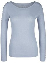 Marc Cain Collections Pullover, Maglione Donna, Blau (Blue Marble 328), 46