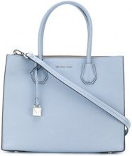 Michael Michael Kors - Mercer extra-large tote - women - Calf Leather - One Size - BLUE