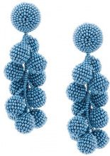 Sachin & Babi - Coconut earrings - women - Silicone - OS - BLUE