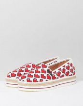 Love Moschino - Pixel Heart - Espadrilles - Multicolore