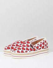 Love Moschino - Pixel Heart - Espadrilles - Multicolore