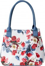 Borsa a fiori (Blu) - bpc bonprix collection