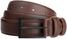 Cintura Dudu  Cintura Uomo in Pelle vera sopra e sotto da 33mm con Fibbia Ner