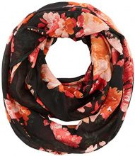 PIECES Pcalisha Tube Scarf Pb, Sciarpa Donna, Multicolore (Black Black), Taglia unica