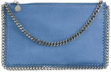 Stella McCartney - Falabella clutch bag - women - Artificial Leather - OS - BLUE