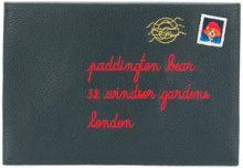 Maison Labiche - envelope clutch - women - Leather - OS - BLUE