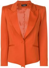 Styland - Blazer con bottone unico - women - Wool/Nylon/Spandex/Elastane/Silk - S - YELLOW & ORANGE