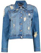 Giubbotto di jeans in stile western Alice
