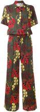 P.A.R.O.S.H. - Tuta jumpsuit - women - Silk/Spandex/Elastane - XS - GREEN