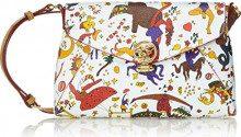piero guidi 212894088, Borsa a Tracolla Donna, Bianco, 23x15,5x5 cm (W x H x L)