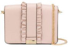 Michael Michael Kors - Jade clutch bag - women - Leather - OS - Rosa & viola