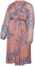 MAMA.LICIOUS Flowered Chiffon Maternity Dress Women Red