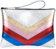 Gum - Galaxy clutch - women - PVC - One Size - METALLIC