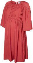 MAMA.LICIOUS Woven Dress Women Red