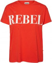 NOISY MAY Rebel T-shirt Women Red