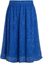 PIECES Patterned Skirt Women Blue