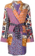 Pierre-Louis Mascia - Soprabito patchwork - women - Silk - OS - MULTICOLOUR
