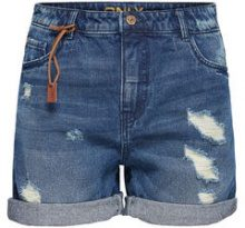 ONLY Brooky Reg Denim Shorts Women Blue