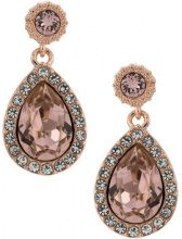 Serpui - crystal embellished earrings - women - Swarovski Crystal - OS - METALLIC