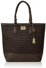 Fly London Lile612fly - Borse Tote Donna, Brown (Dk. Brown), 8x42x35 cm (W x H L)