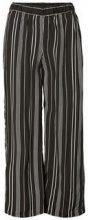 VERO MODA Striped Trousers Women Black