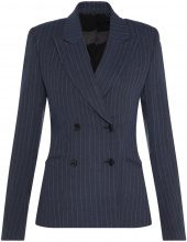 J.LINDEBERG Cypress Spring Pinstripe Blazer Women Blue