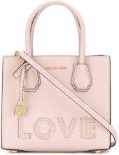 Michael Michael Kors - Mercer Love medium tote - women - Leather - OS - PINK & PURPLE