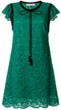 Philosophy Di Lorenzo Serafini - lace dress - women - Cotton/Polyamide/Viscose/Polyester - 42 - GREEN