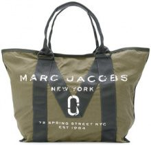 Marc Jacobs - logo tote - women - Cotton - OS - GREEN