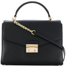Michael Michael Kors - Borsa a tracolla 'Sloan' - women - Leather - OS - BLACK