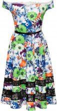 Abito a fiori (Verde) - BODYFLIRT boutique