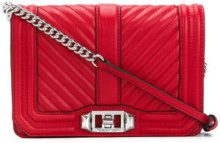 Rebecca Minkoff - Borsa a tracolla 'Love' - women - Leather/Polyester - OS - RED