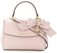 Michael Michael Kors - Borsa 'Ava Mini' - women - Calf Leather - One Size - PINK & PURPLE