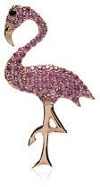 Ileana Makri - Collana 'Flamingo' - women - Sapphire/Diamond/18kt Rose Gold - OS - PINK & PURPLE