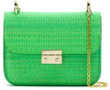 Serpui - shoulder bag - women - Straw - OS - Verde
