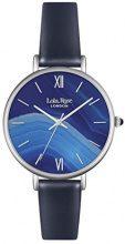 Lola Rose-Orologio da donna al quarzo con Display analogico e cinturino in pelle, colore: blu LR2015