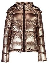 Karina Metallic Padded Coat