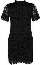 Boutique Alice Lace High Neck Bodycon Dress