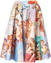 Moschino - Gonna 'Renaissance' - women - Polyester - 42 - MULTICOLOUR